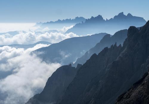 20-C2-6850 Tre Cime Ridges